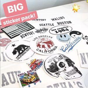 Big Brandy Melville Sticker Pack!🌟